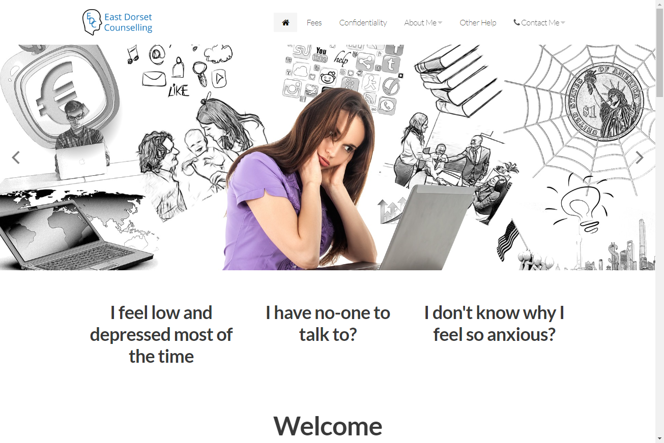 East Dorset Counselling website